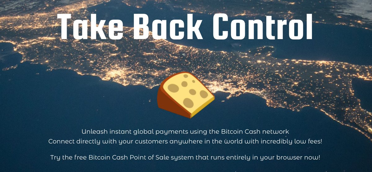 Bitcoin on twitter cheddr is a bitcoincash point of sale system bitcoindevelopers blockchain developers get your project featured by bitcoin build on bitcoin cashpicittermynktna2px ccuart Choice Image