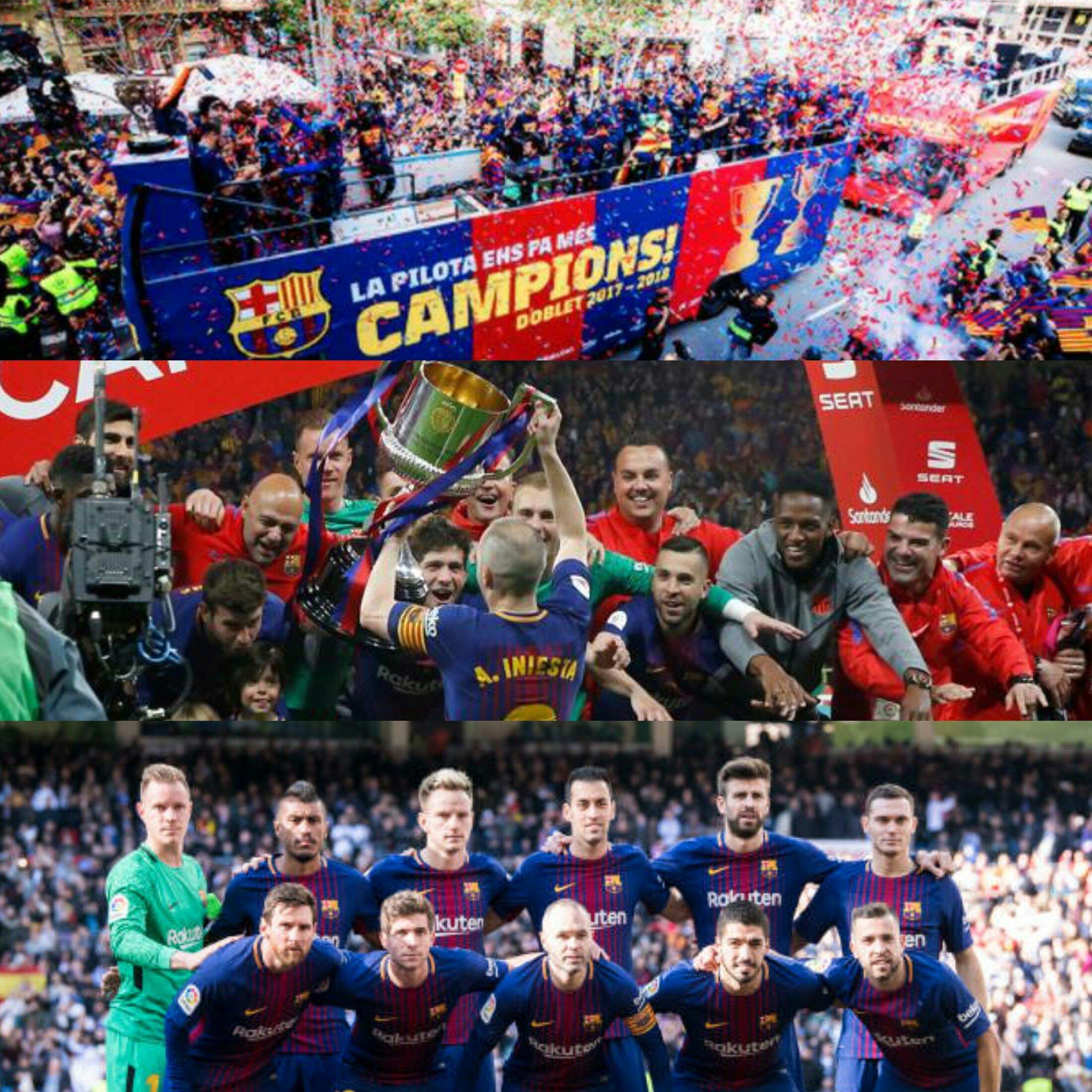 FC Barcelona, el 'doblete de Liga y Copa del Rey