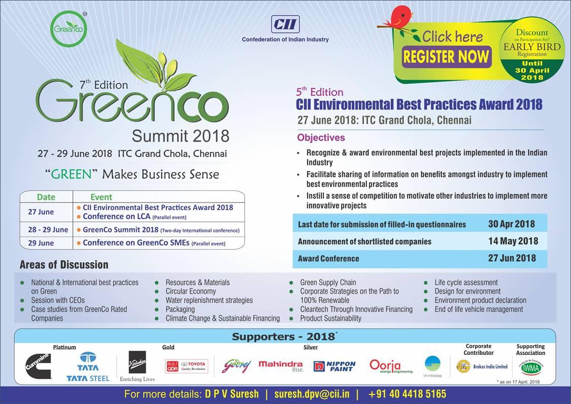 CII GreenCo on Twitter: