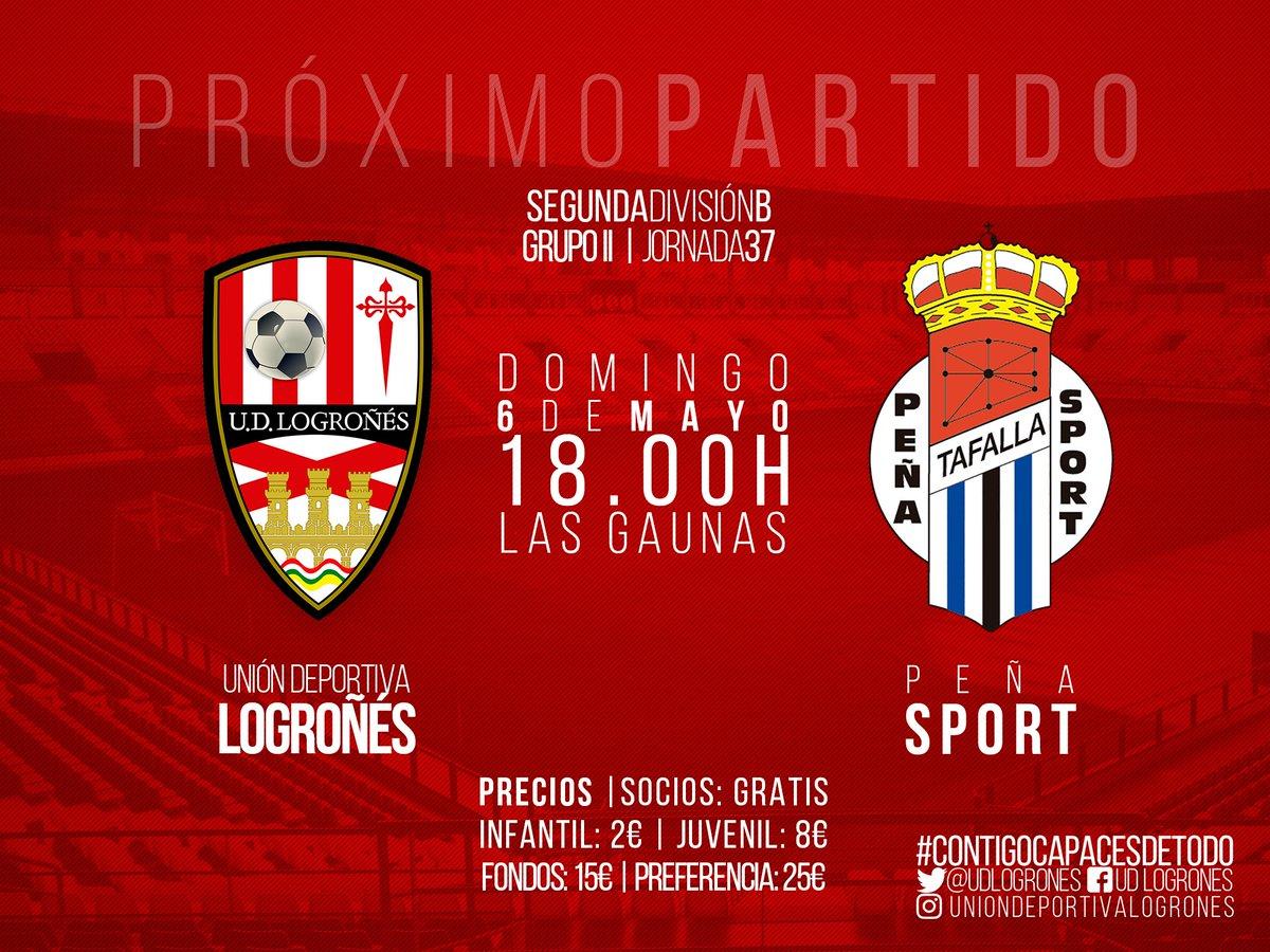 J37 - Logroñes vs Peña Sport .- Domingo 6 de Mayo a las 18:00 DcGPP1CXkAAMVeG