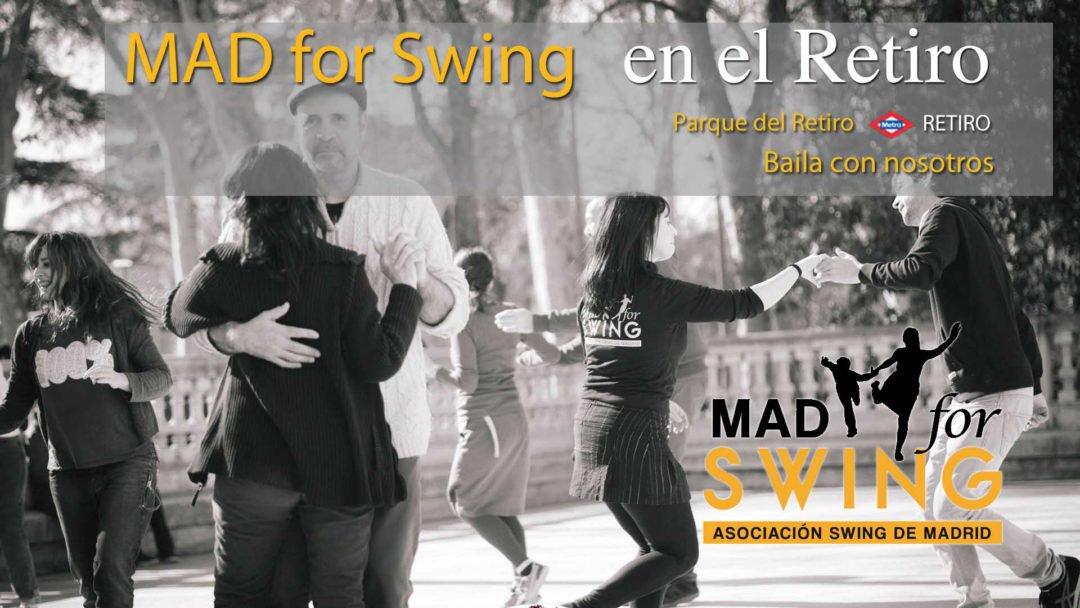 Mad For Swing On Twitter Swing En El Retiro Baile Social