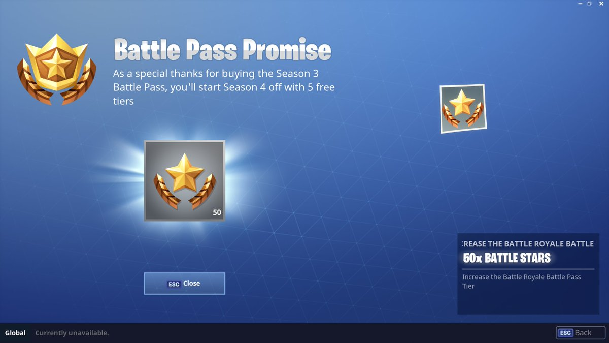Fortnite News On Twitter Season 3 Battle Pass Owners Will Receive