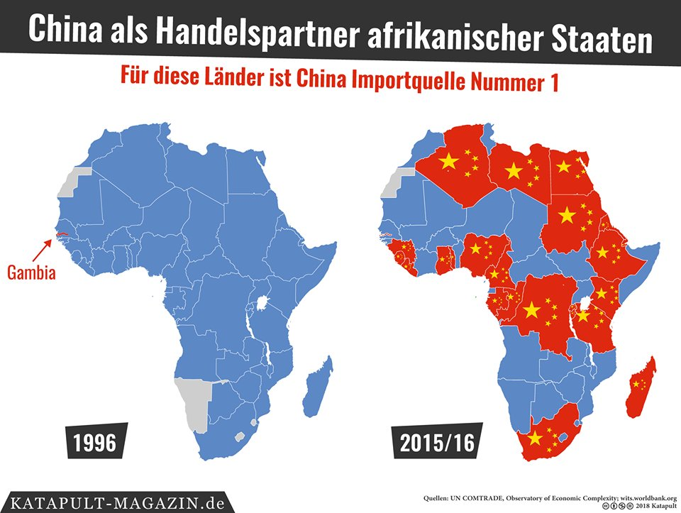 Afrika Karte Staaten.Katapultmagazin On Twitter Globalisierung In Einer Karte