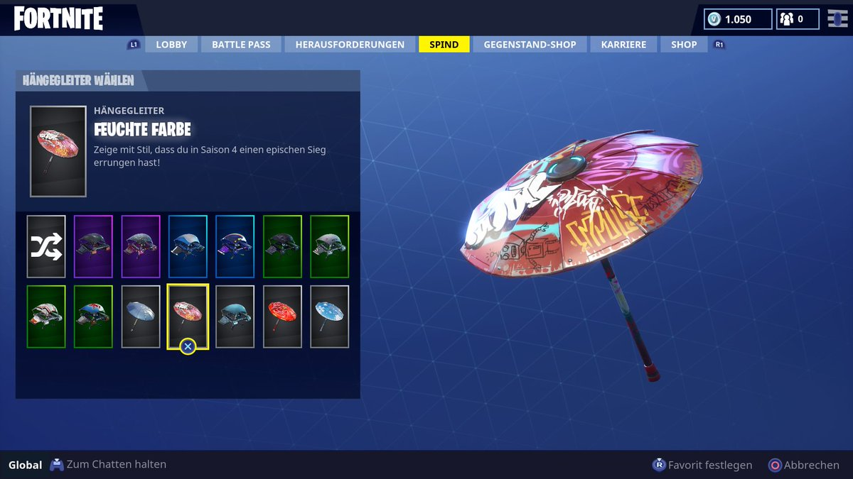 Fortnite News Fnbrnews On Twitter Theres A New Umbrella To