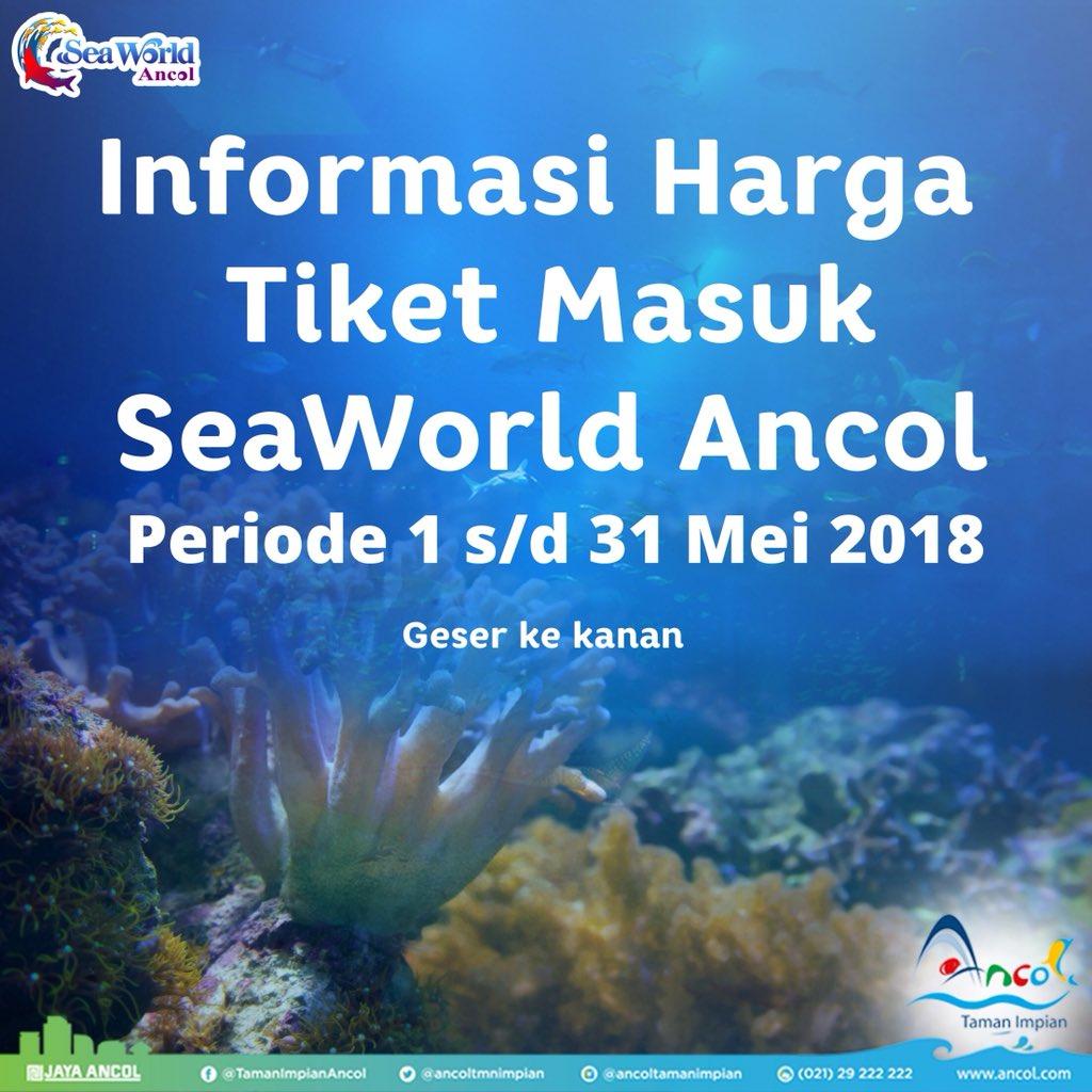 Ancol Taman Impian On Twitter Halo Sahabat Laut Ini Dia Informasi