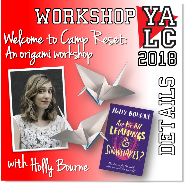 Yalc On Twitter Welcome To Camp Reset An Origami Workshop Well