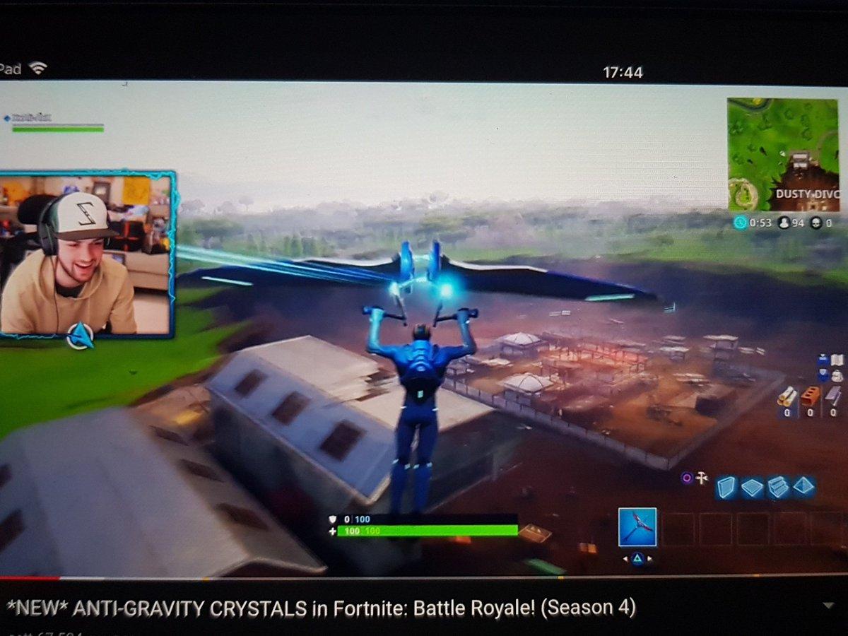 How Long Do Gravity Crystals Last Fortnite Ali A On Twitter New Anti Gravity Crystals In Fortnite Battle Royale Season 4 Https T Co Ytuy9pb2rp Via Youtube