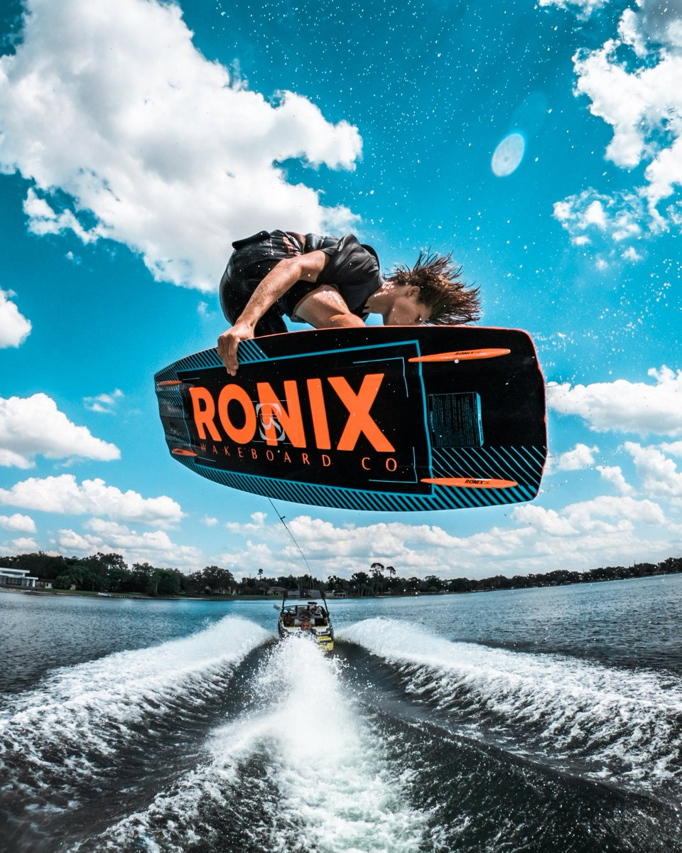 Back in the Sunshine State and already on the lake with the Wake Boys! Tyler Higham has some STEEZE! #GoPro