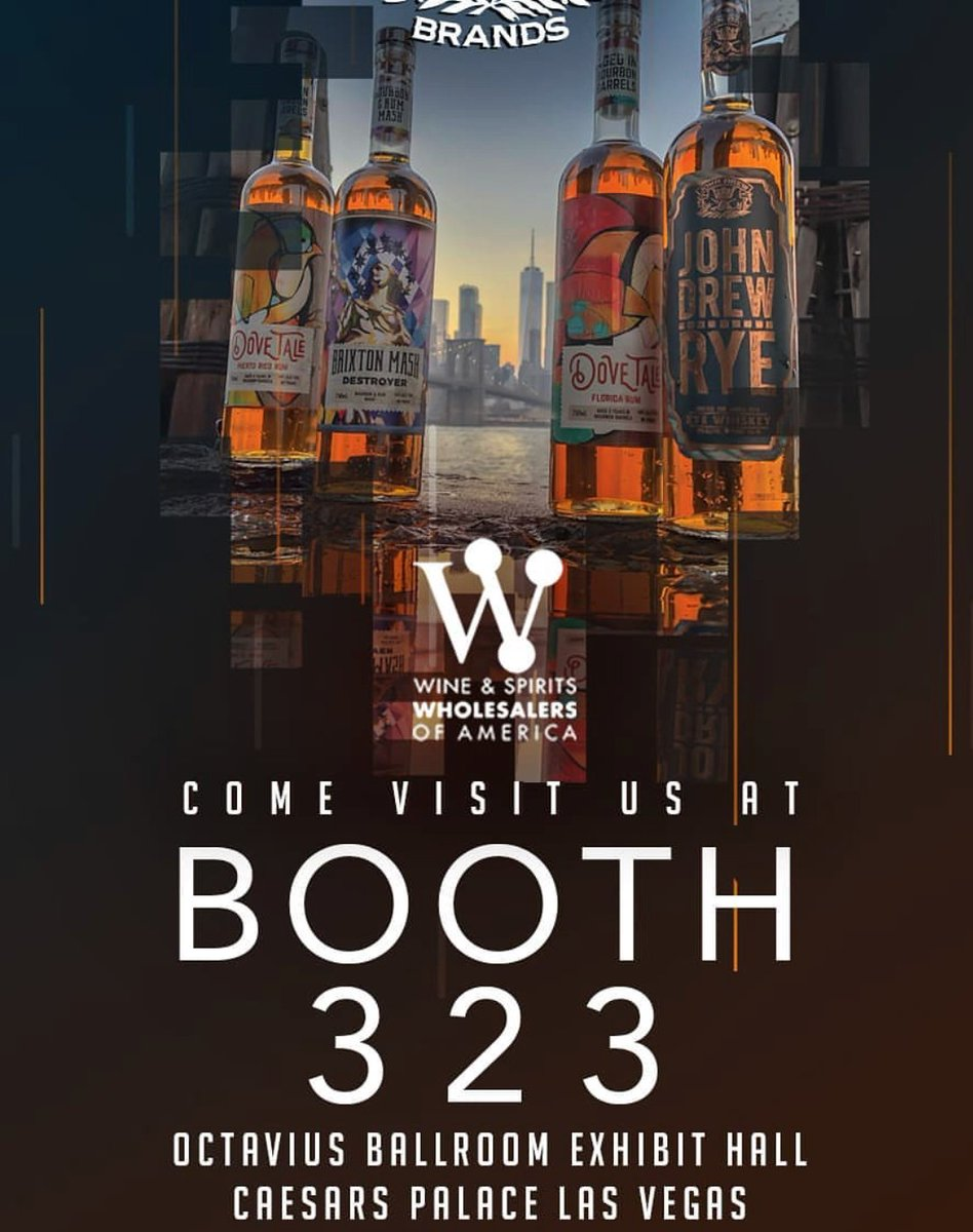 Find us at booth 323, meet JD, the rest of the JDB family and find out what  makes us one of a kind! #wswa18 #twobrowngetdown #lasvegaspic.twitter.com/  ...