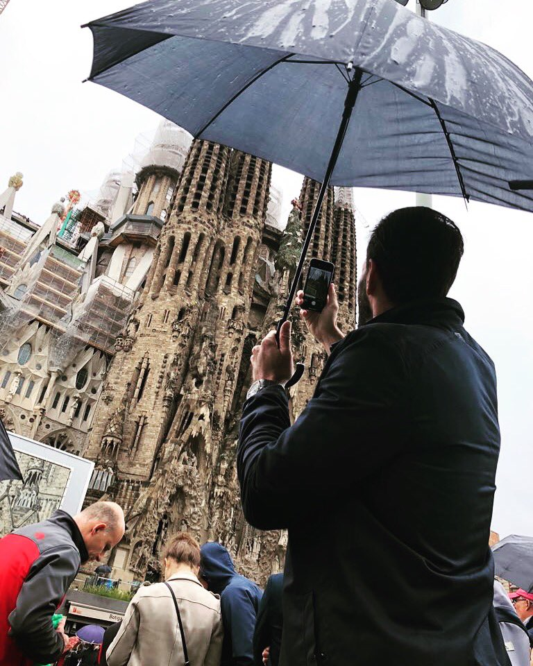 La Sagrada Familia.. #Gaudi