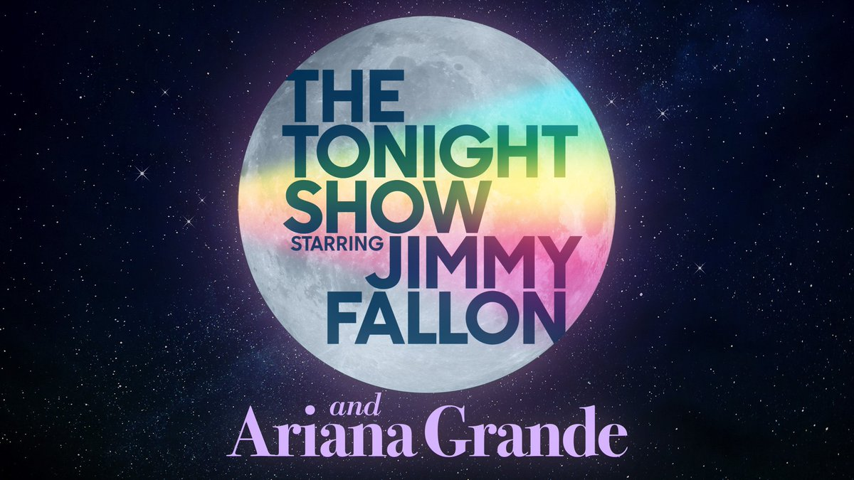#ArianaOnFallon TONIGHT! You don't want to miss it.