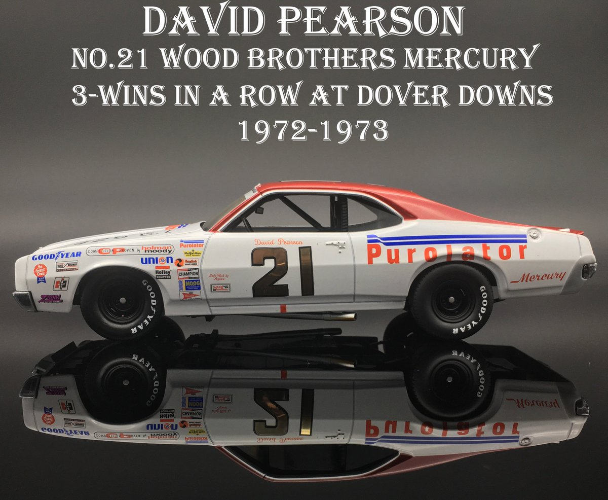 4f13e02aac4 TUESDAY SPOTLIGHT  David Pearson wins 3-in-a-row at  MonsterMile driving  iconic No. 21  woodbrothers21 Mercury. Dominated