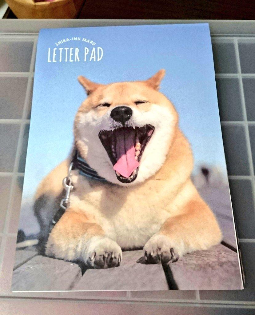 test ツイッターメディア - 近くにキャンドゥがないから、 なかなか買えなかった 柴犬まるちゃんグッズ。 だいぶ商品無くなってて、 とりあえず便箋と封筒ゲット。  #柴犬まる  #キャンドゥ https://t.co/0WUy5jf6G9