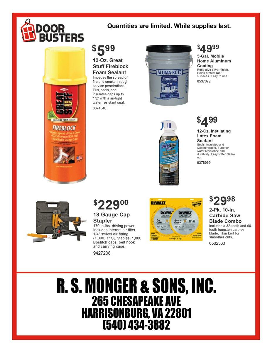 RS Monger & Sons Inc (@RSMongerAndSons) | Twitter