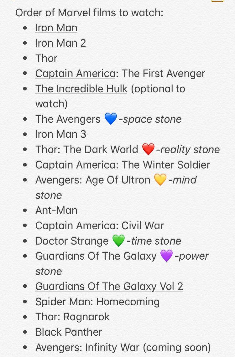 best way to watch marvel movies