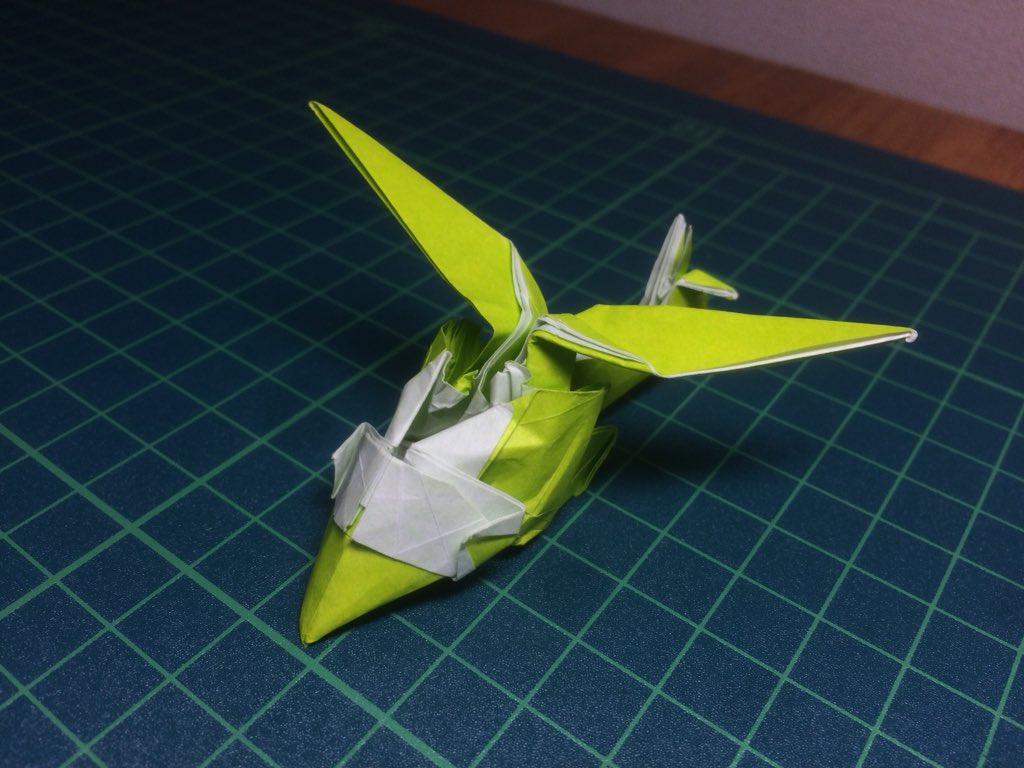 ヘリコプター 折り紙
