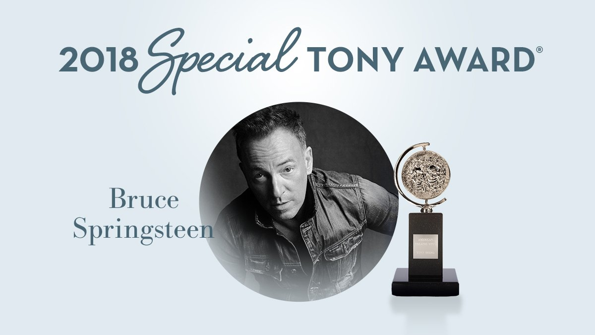 Reloaded twaddle – RT @TheTonyAwards: We are thrilled to present the 2018 Special Tony Award to @sp...