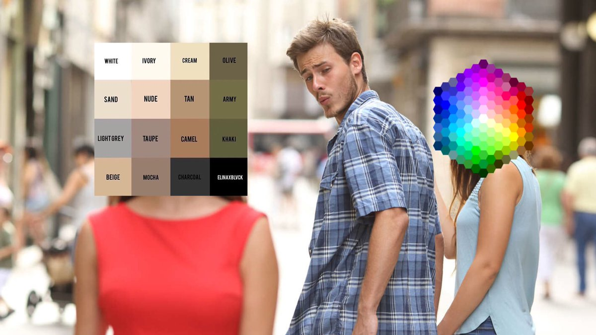 me figuring out what to wear