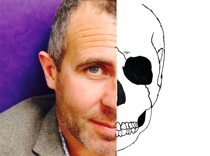 Chris Hallatt Wells, author of KING BONES, is available for school Skype visits.