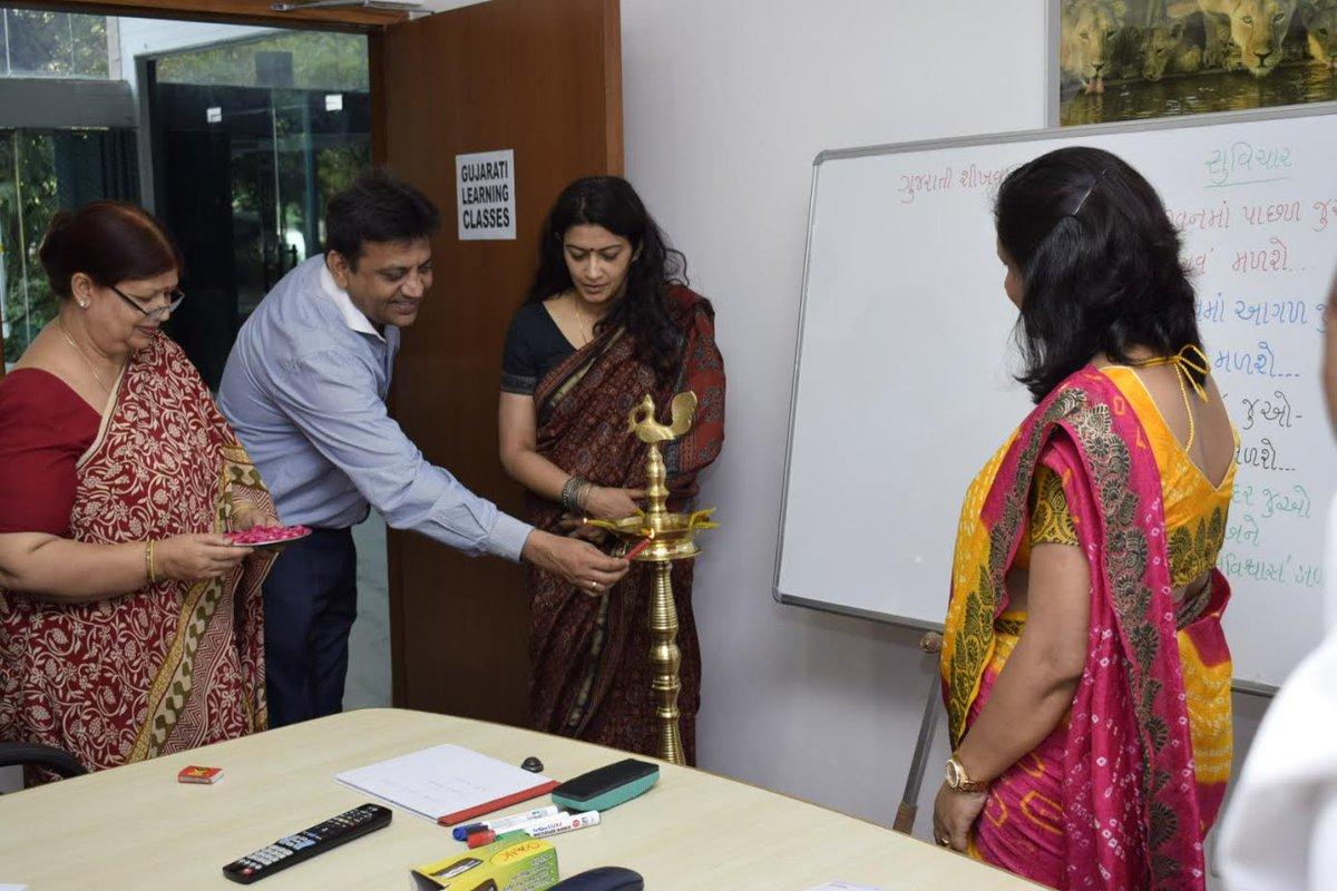 Gujarat Bhawan in Delhi starts Gujarati language classes; launches new website