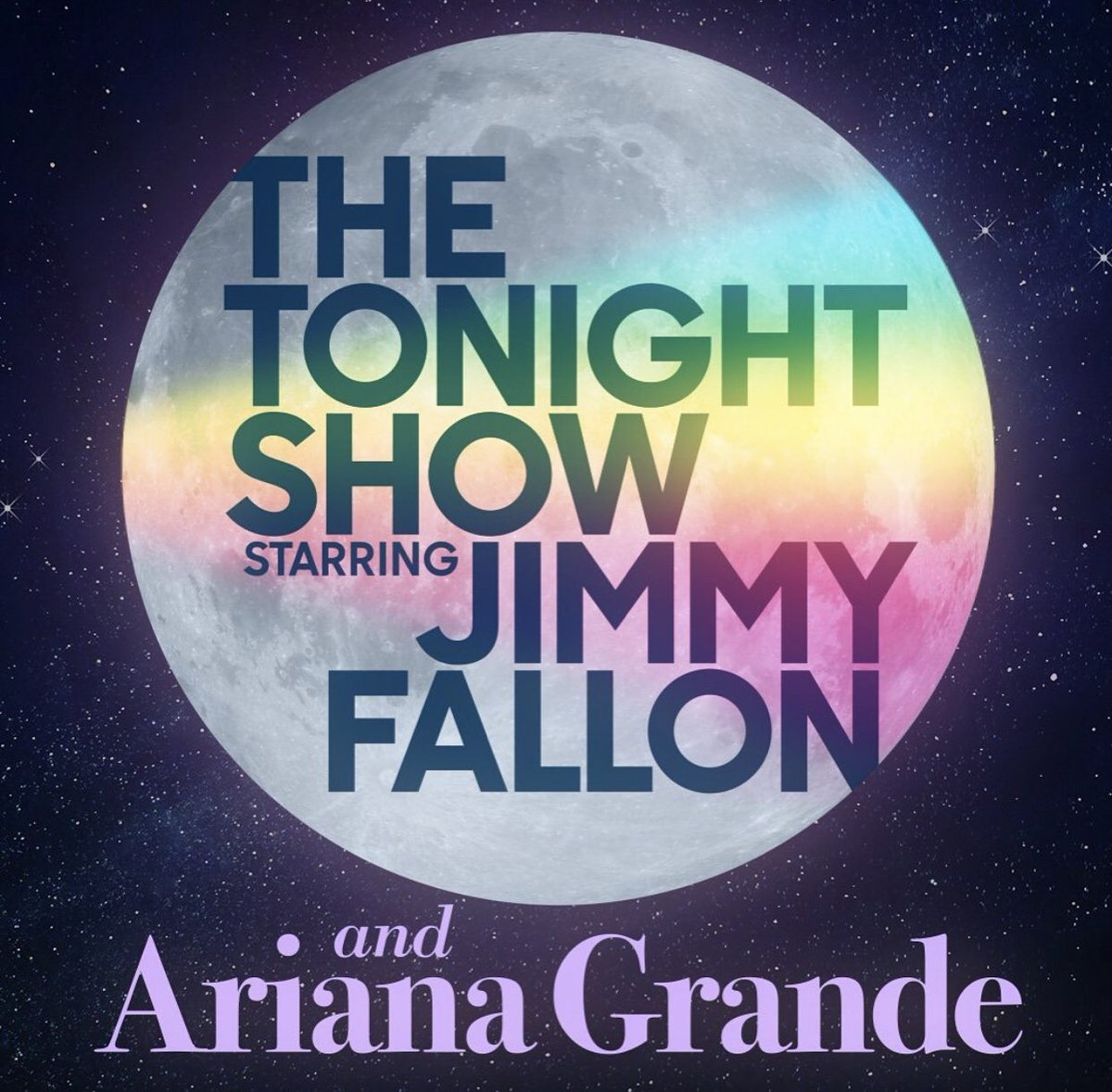 #ArianaOnFallon TONIGHT!! It's going to be HILARIOUS 👀 make sure to tune in! @ArianaGrande @jimmyfallon