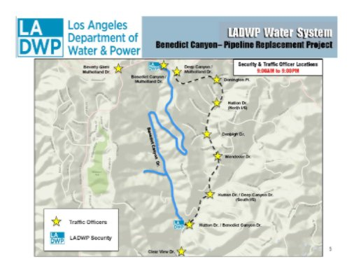 Knx 1070 Traffic Map.Ladwp On Twitter Traffic Alert Benedict Canyon Dr Will Be Closed