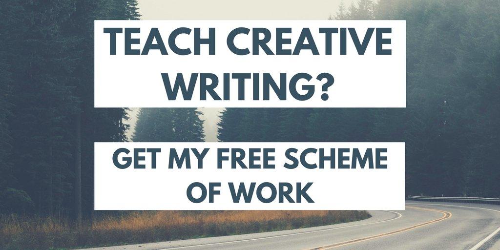 Year 8 creative writing scheme of work