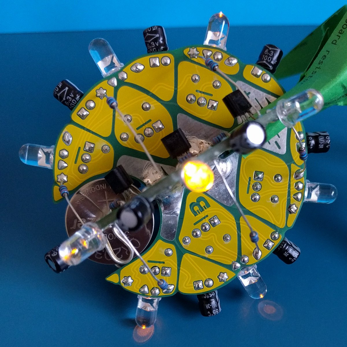 Assembled the Ananas from @boldport's #BoldportClub