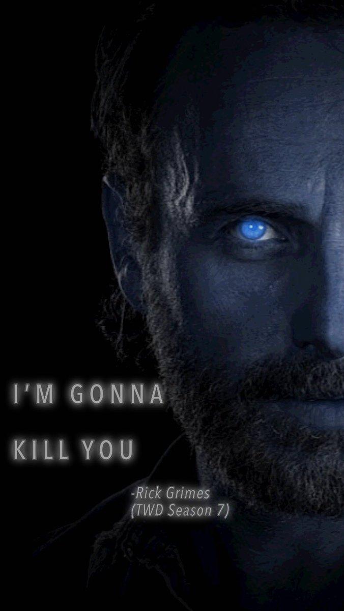 Fail Gurl On Twitter Negan X Rick Grimes The Walking Dead Iphone