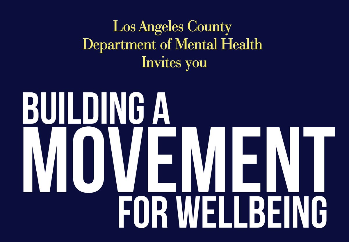 La Mental Health On Twitter Join Us For Our