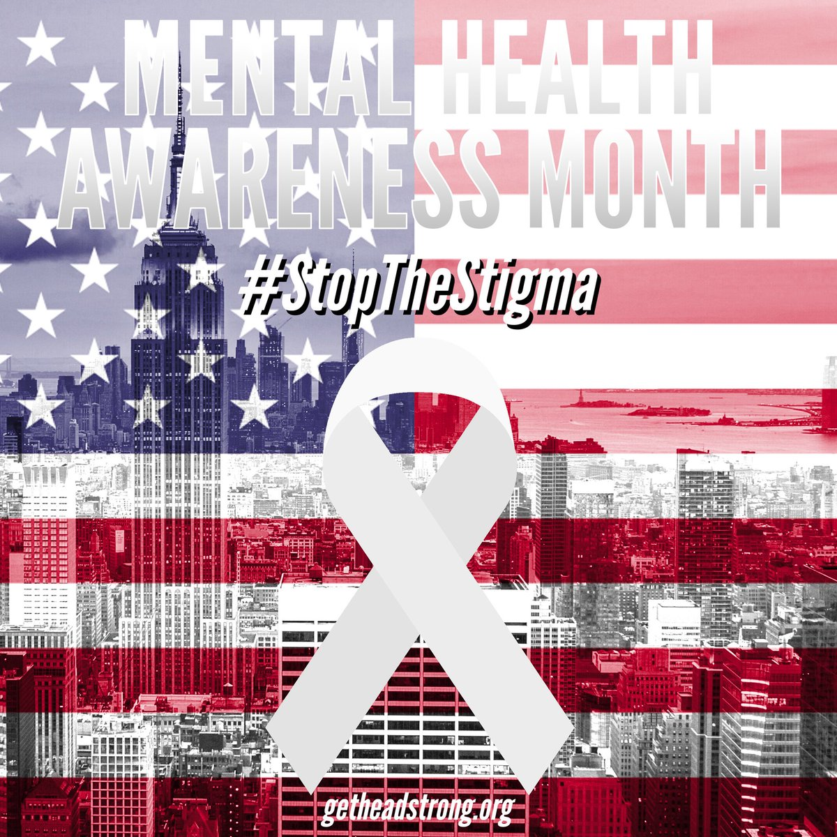 Today is the first day of national #MentalHealthAwareness month. So we ask that you please share this message, in order to help us #StopTheStigma and continue to raise awareness for the mental health needs of the veterans community  ▪️ #Veterans #MentalHealth #GetHeadstrong