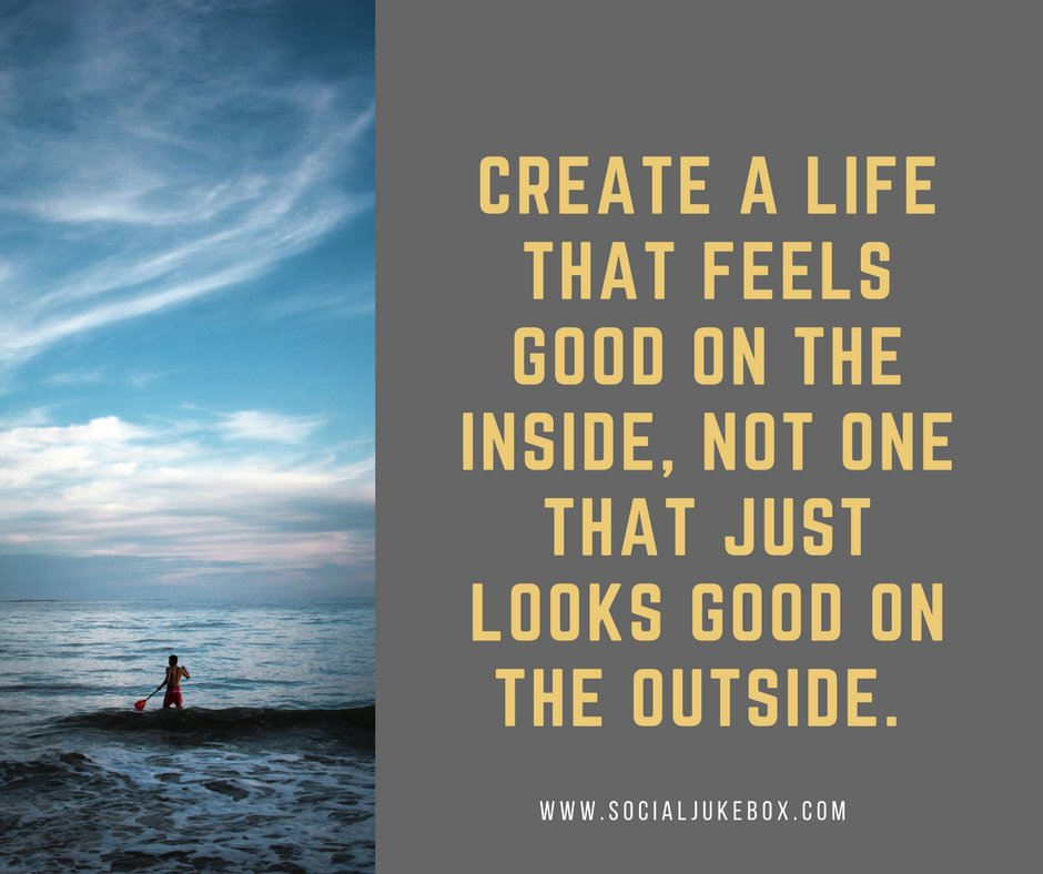 Tim Fargo On Twitter Create A Life That Feels Good On The
