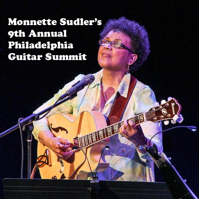 Guitarist, Singer & Composer, @Monnette12 / Goes For The 9th Guitar Summit / Check Out Her Story & Buy A Ticket / For Info: https://bit.ly/2rdedNz   / #PhillyJazz #MonnetteSudler #PhilaGuitarSummit #Guitar #JazzGuitar #DougCarn #JamaaladeenTacuma #ILoveMusicpic.twitter.com/qOxEaMlvYh