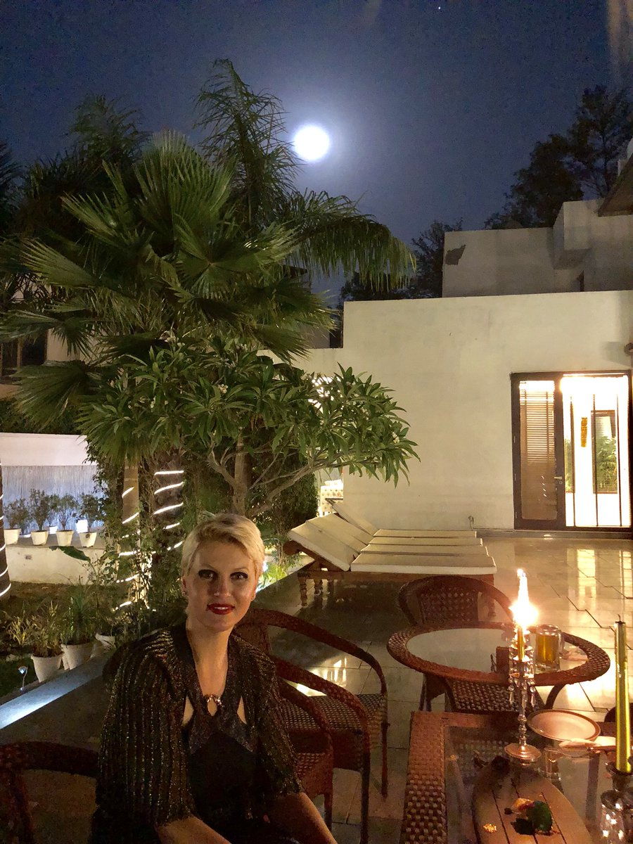 Ibrahim Mohamed Didi On Twitter Beautiful Full Moon Night At