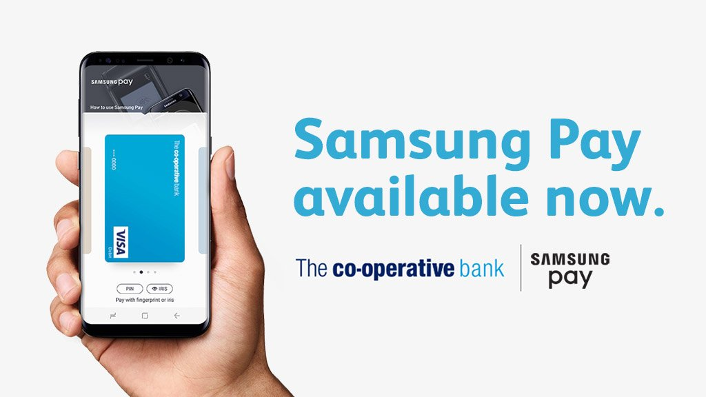 Carry your credit and debit cards on your Galaxy device, and use them just like you would with your contactless card. See how #SamsungPay works: bit.ly/2hoRxJw