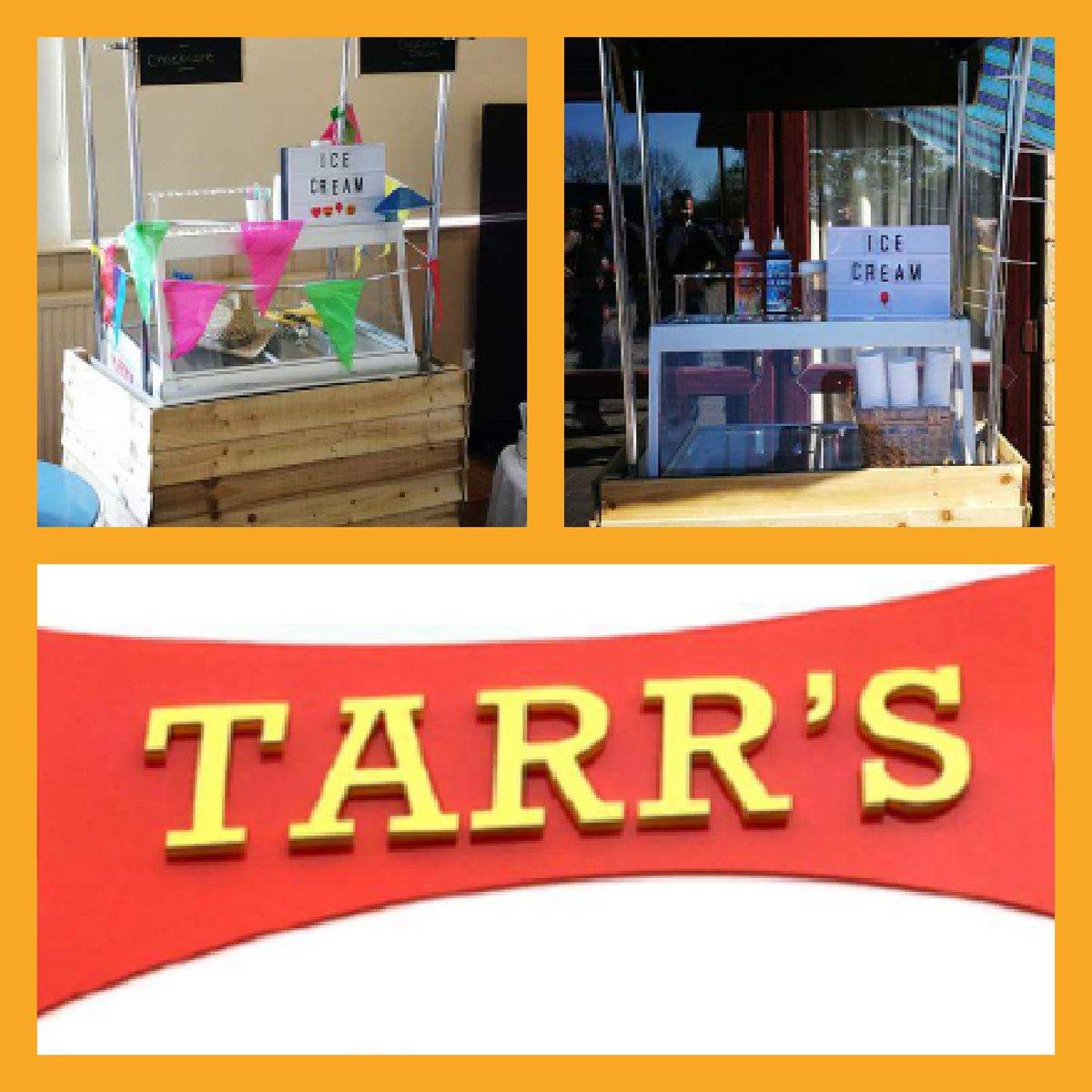 @TarrsIceCream book our #icecream #cart for your event