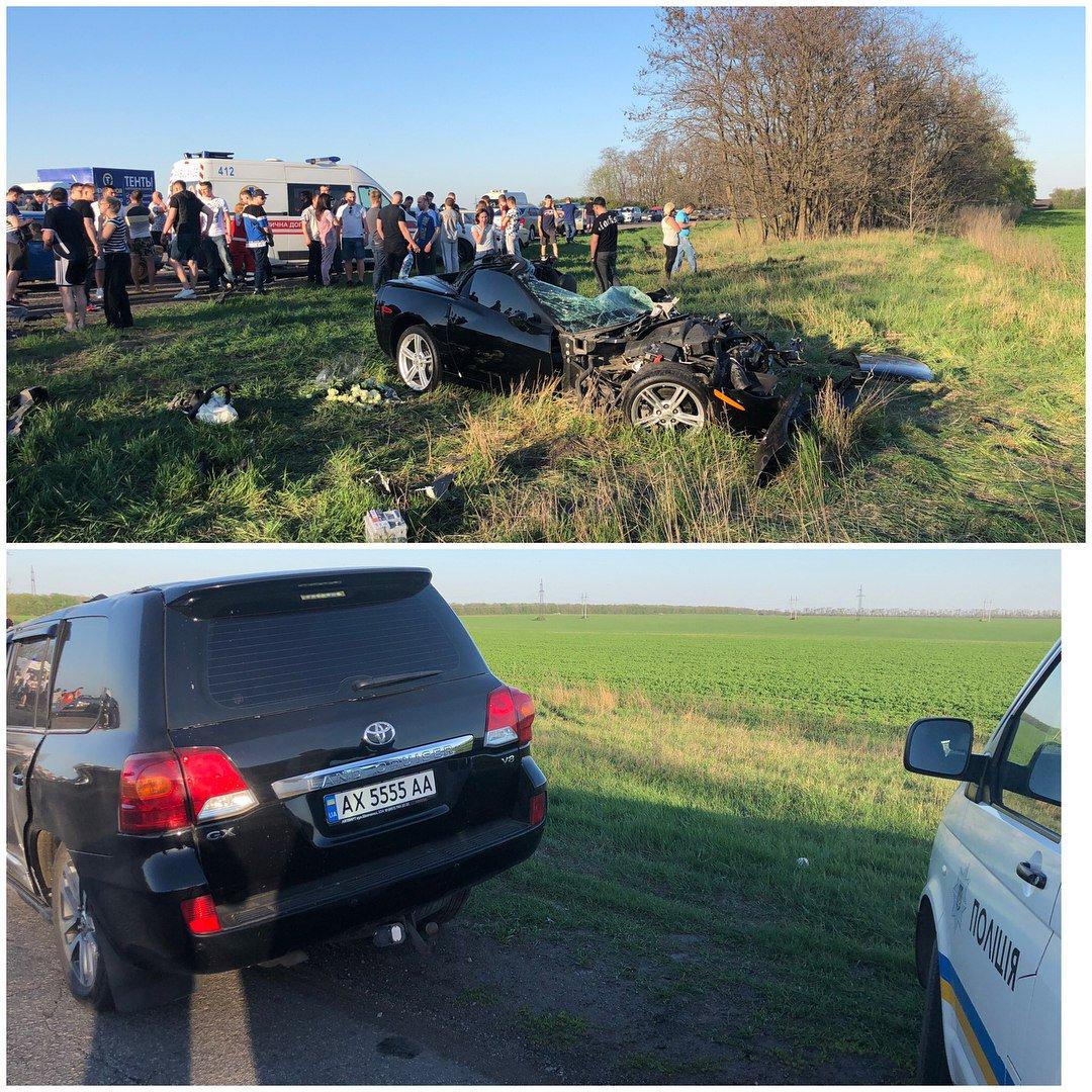 В результате лобового столкновения внедорожника и легковушки на Харьковщине погиб 22-летний мужчина, - полиция - Цензор.НЕТ 4350