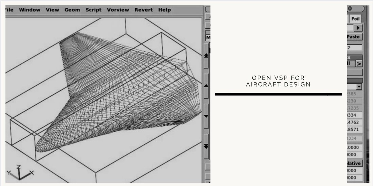Sculpteo On Twitter Openvsp Developed By Nasa Is The Perfect Tool For Aircraft Design As It Is An Opensource Cad Software That Allows For Accurate Designs And Mechanical Overview For All