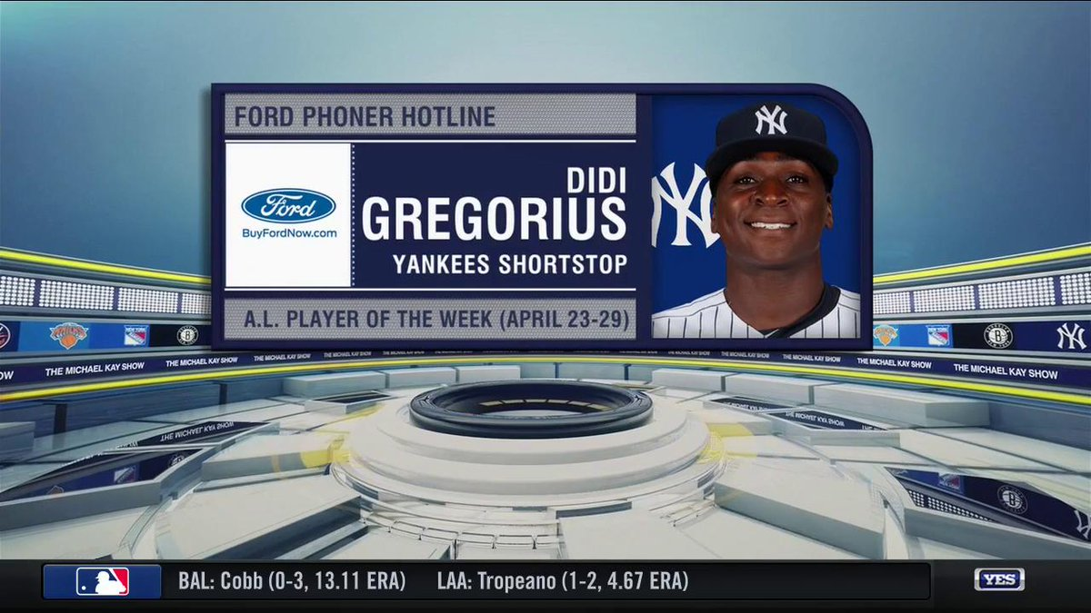 If the Yankees are willing, @DidiG18 is willing to spend the rest of his career in pinstripes. #TMKSonYES