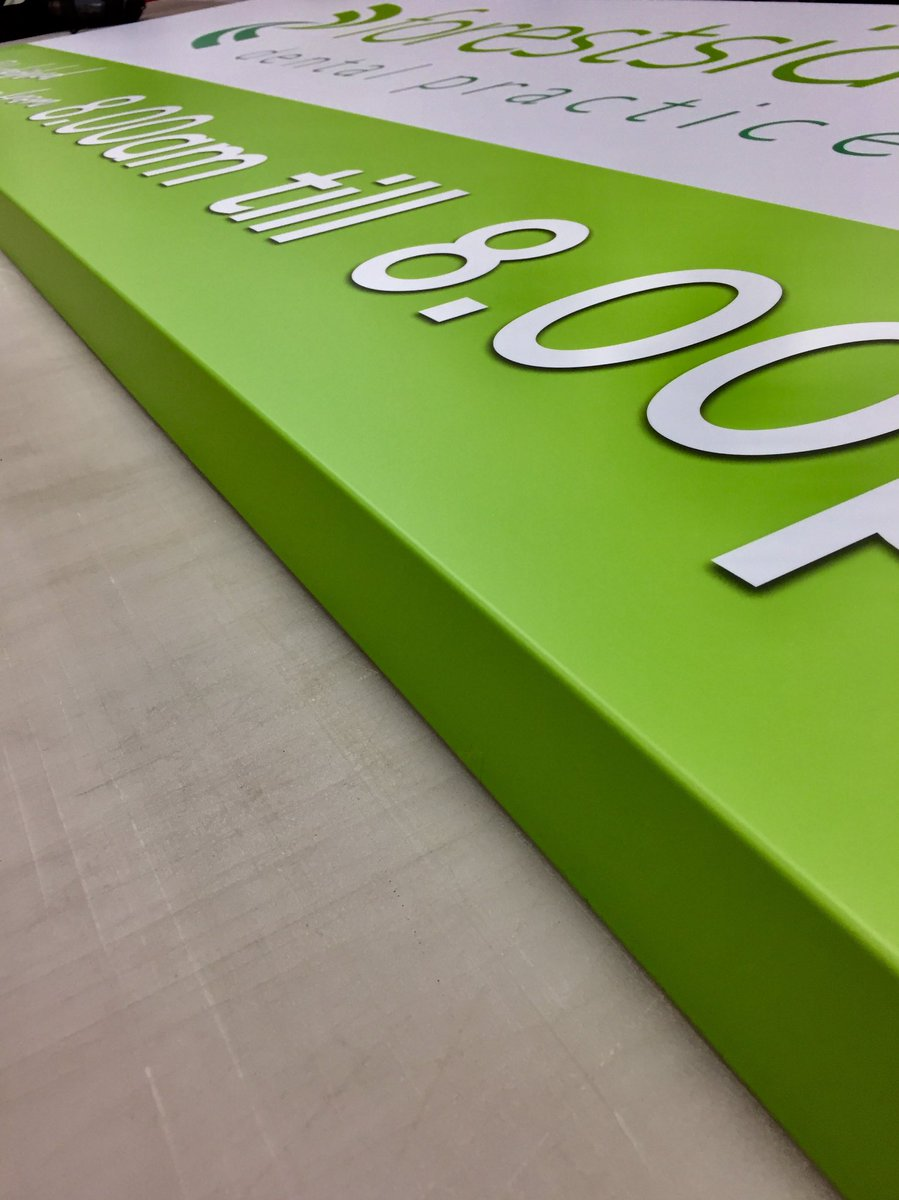 mac signs uk ltd on twitter let s create composite folded sign