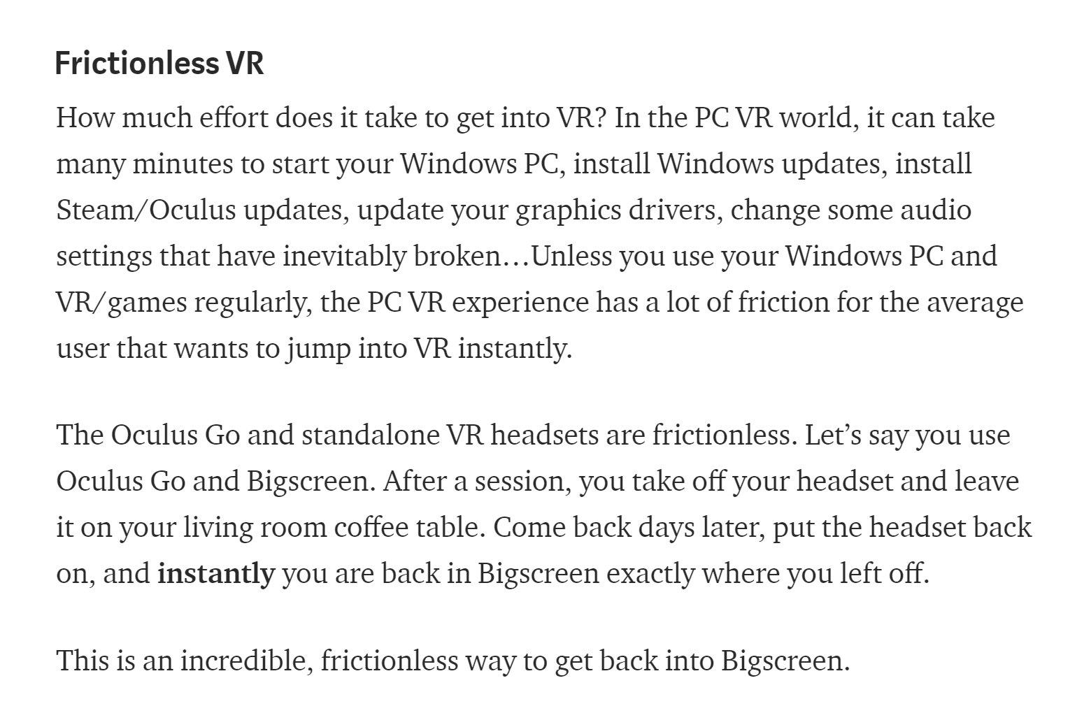 Oculus Go Drivers