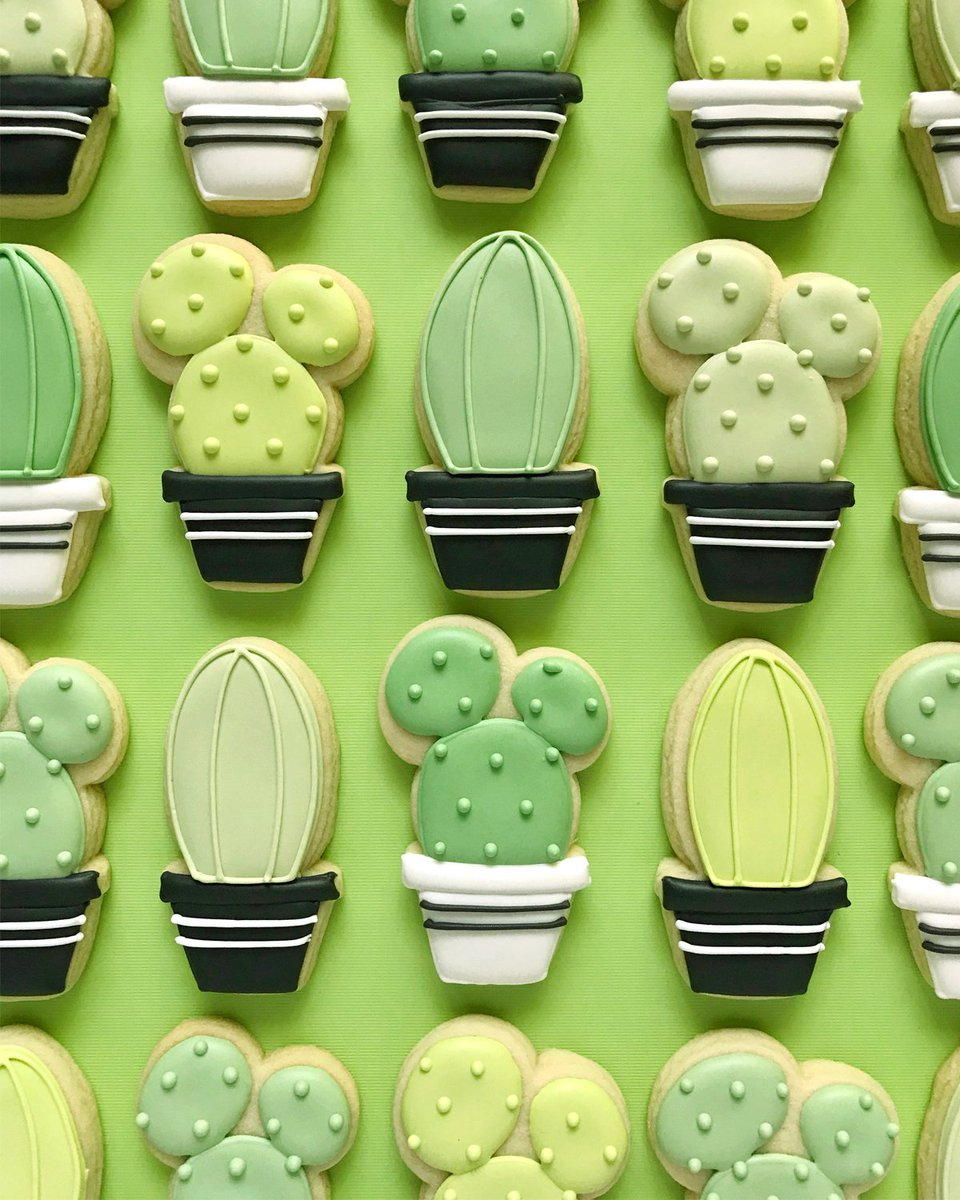 Etsy On Twitter Currently Craving Succulent Cookies Https T Co Uizasiccmy