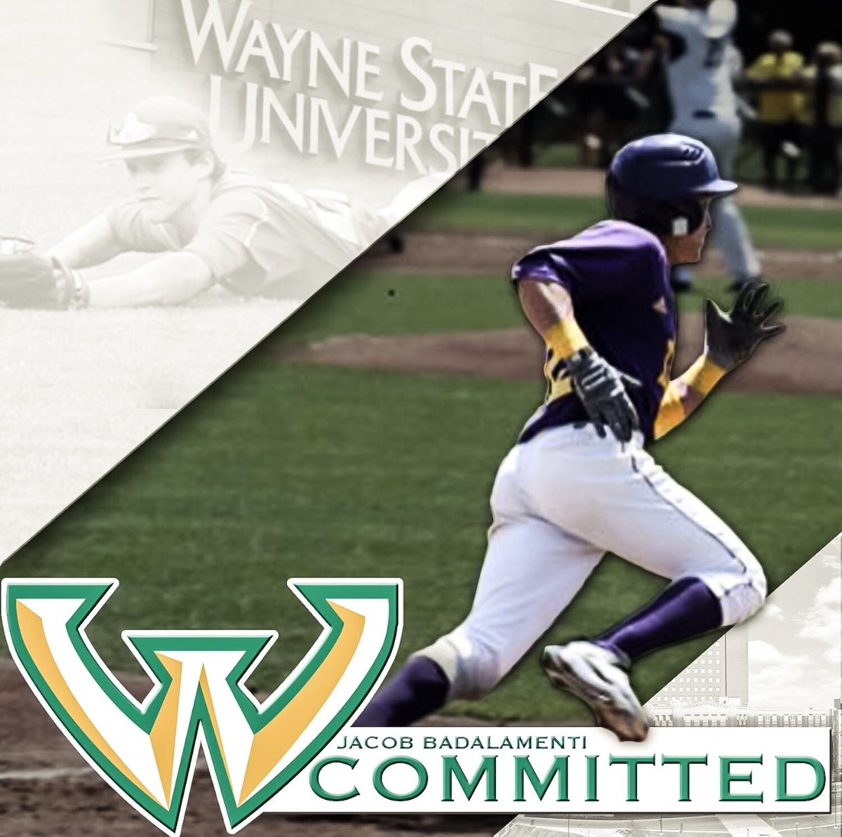 Blessed to announce my commitment to play baseball and further my education at Wayne State University! #GoWarriors 🔰