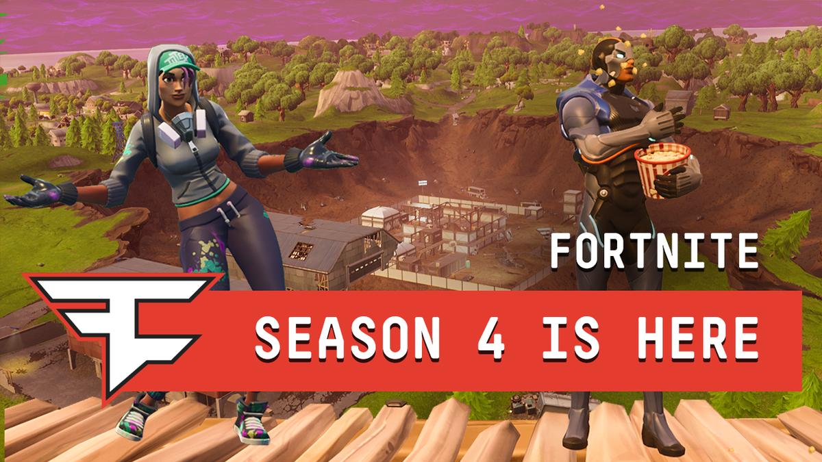 fortnite season 4 trailer - fortnite multiplayer trailer