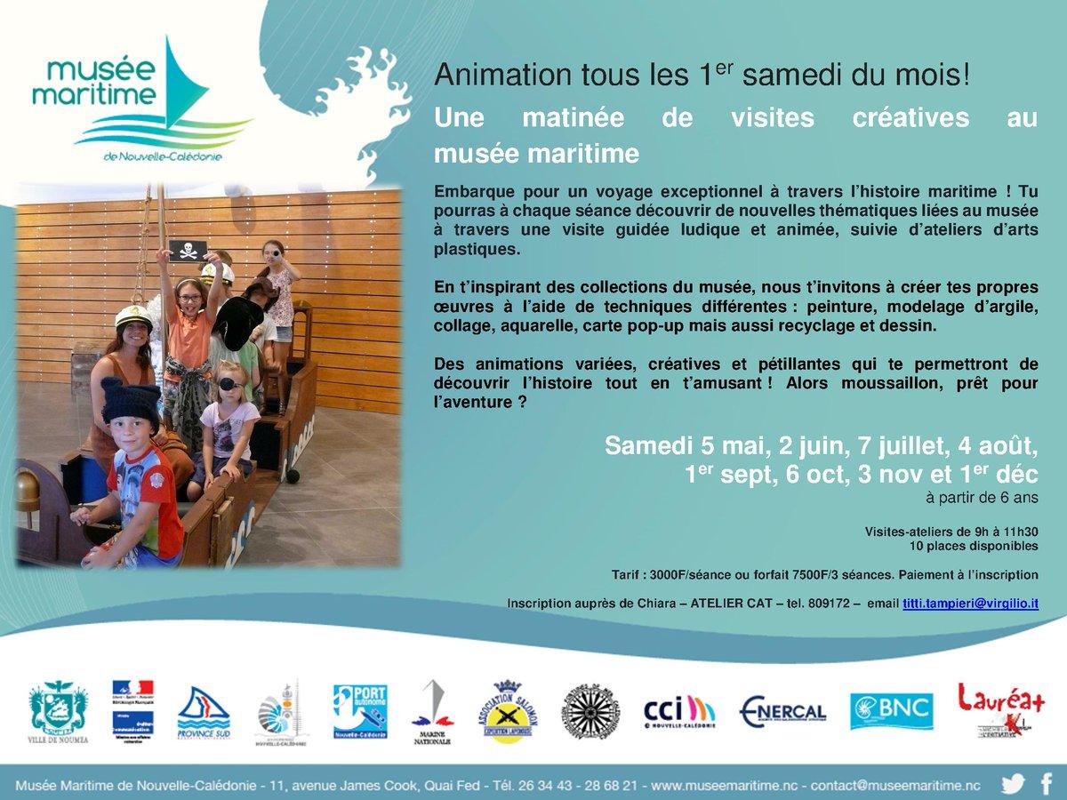 Muse Maritime De NC On Twitter Il Reste Quelques Places Encore Pour La Visite Ludique Et