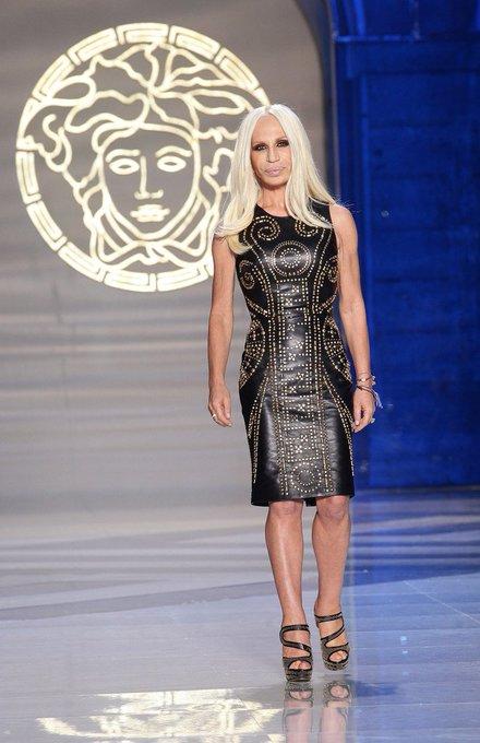 Happy birthday Donatella Versace(born 2.5.1955)