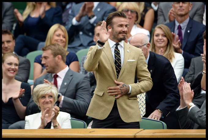 Happy Birthday David Beckham! A pioneer of men\s style and a true tailoring king.