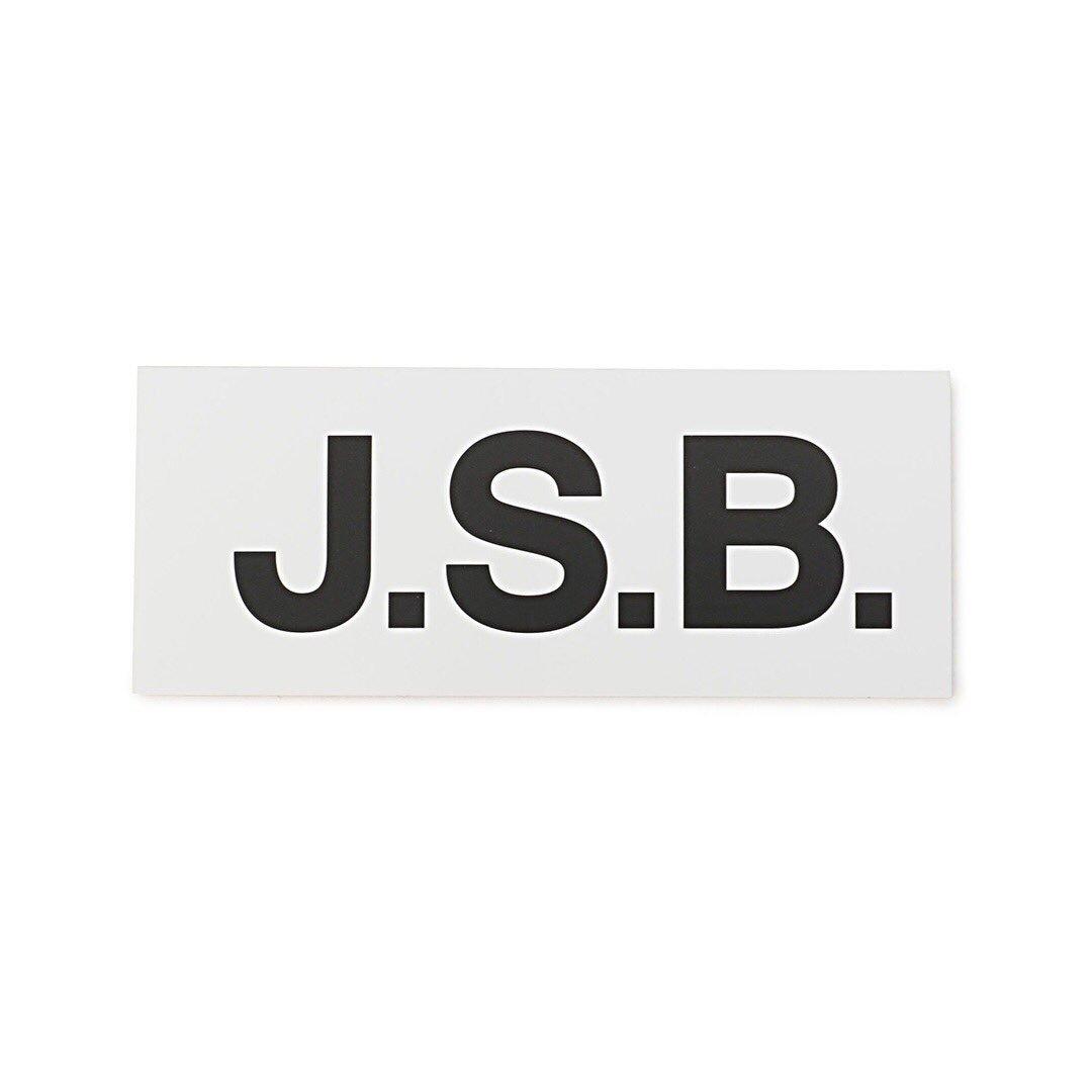 j s b official в twitter new arrival name logo sticker s