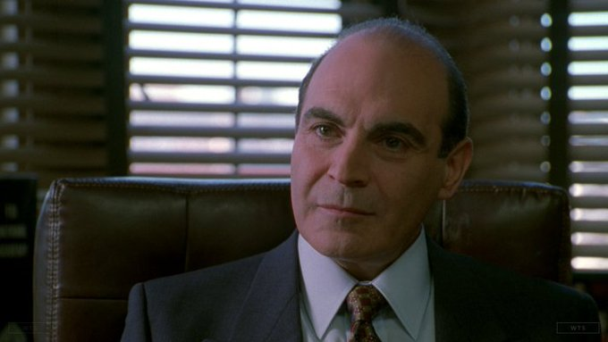 David Suchet turns 72 today, happy birthday! What movie is it? 5 min to answer!