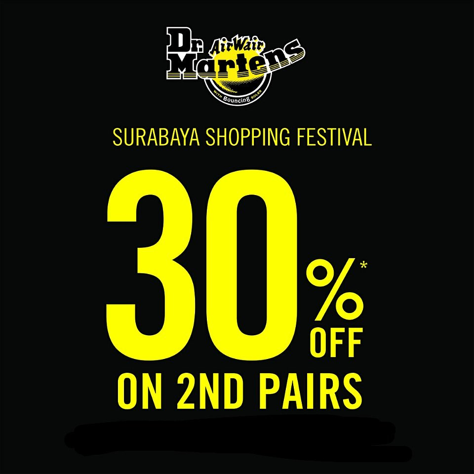 318e56f95a Dr Martens Indonesia Twitter Tweet: We are joining Surabaya Shopping  Festival! Visit Dr. 1